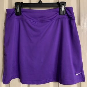 Nike Dri-Fit Purple Tennis/Golf Skort - Size Small